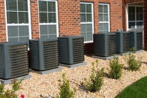 combining hvac landscaping efficiency